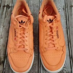 Adidas Orange Sneakers